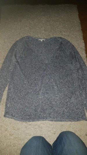 H&M Grof gebreide trui wit-leigrijs