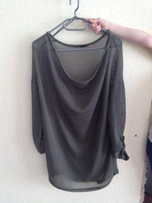 lockerer transparenter Pullover (khaki) Vero Moda