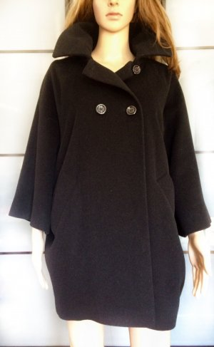 Franco Callegari Manteau en laine noir laine