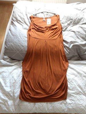 lockeres Fallkragenkleid