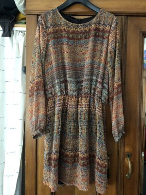 Blouse Dress multicolored