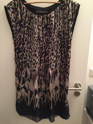 Lockeres Kleid mit Leo-Print