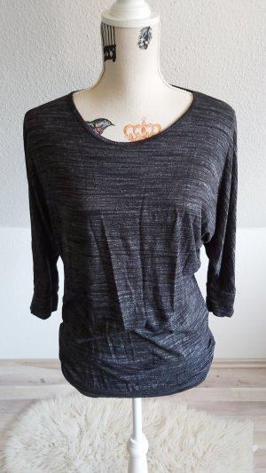 Amisu T-Shirt black-grey