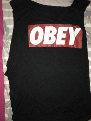 Lockeres Obey Tank Top