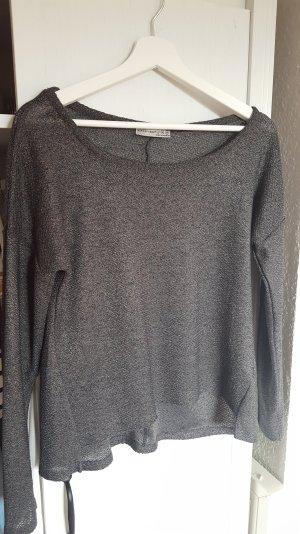 lockeres pversized Longsleeve Pullover in grau
