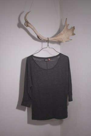 Only Boatneck Shirt anthracite