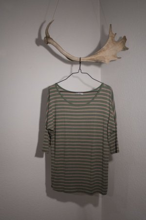 Orsay Boatneck Shirt forest green-camel