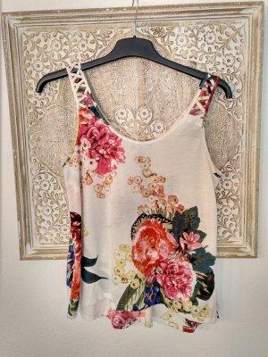 Lockeres Shirt mit Blumenmuster