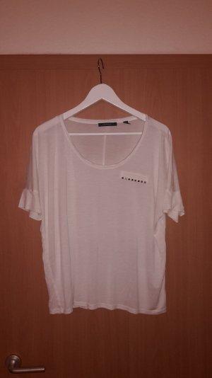 Lockeres Shirt mit Fledermaus-Ärmeln
