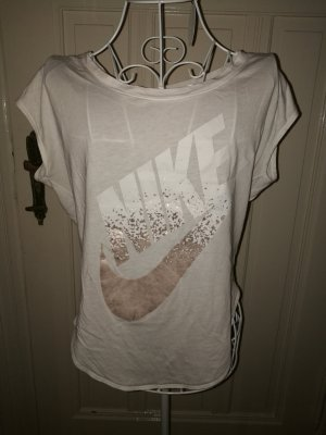 Nike Sports Shirt white-gold-colored