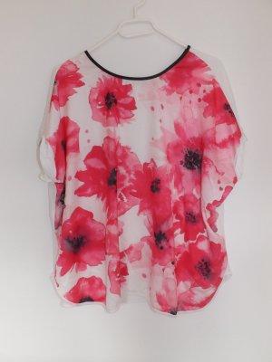 lockeres T-Shirt mit Blumenmuster