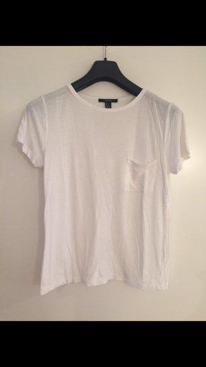 Lockeres weißes Shirt