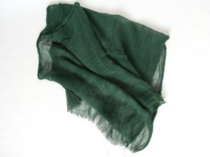 Summer Scarf forest green no material specification existing