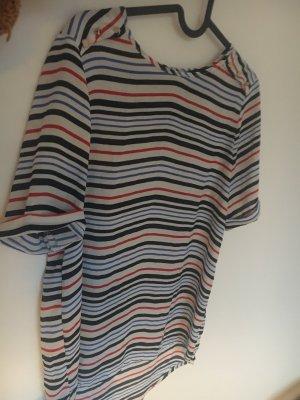 Lockersitzende Streifen-Bluse