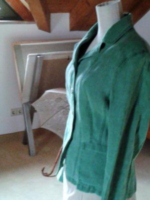 Lodenfrey Blazer, Leinen, mattes grün
