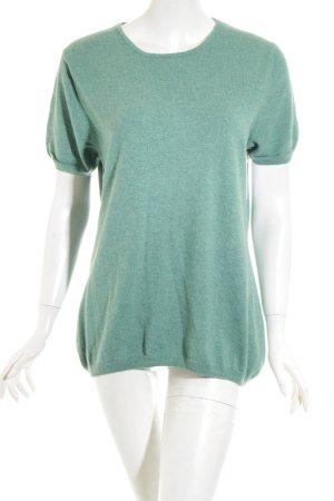 Lodenfrey Cashmerepullover grün schlichter Stil