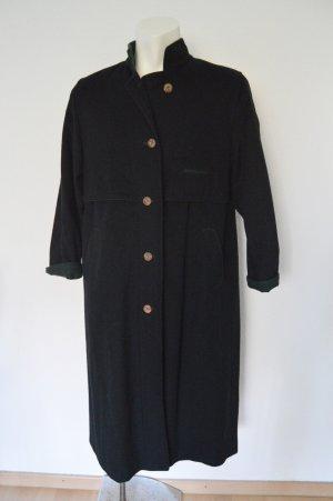Lodenfrey langer Mantel Schnurwolle