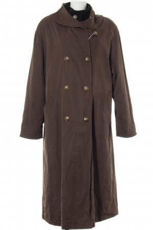 Lodenfrey Oversized Mantel graubraun-schwarz Casual-Look
