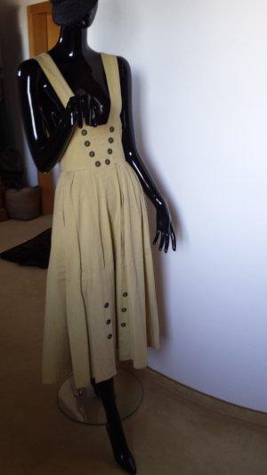 Lodenfrey Traditional Skirt dark yellow cotton