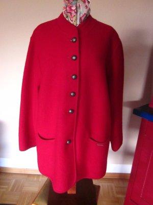 Geiger Veste bavaroise rouge foncé laine vierge