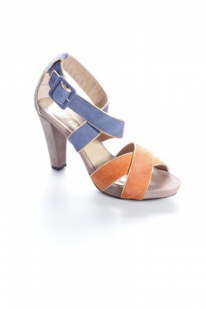Lodi Strapped High-Heeled Sandals multicolored