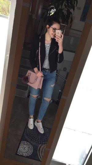 H&M Jeans boyfriend azzurro-blu acciaio