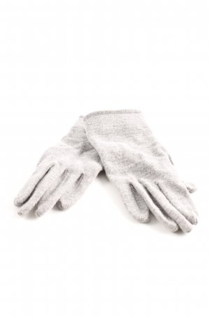 Loevenich Knitted Gloves grey casual look