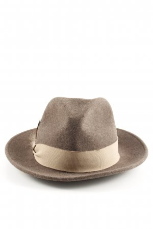 Loevenich Traditional Hat brown-cream flecked elegant