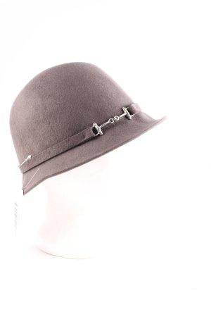 Loevenich Wollhut grauviolett klassischer Stil