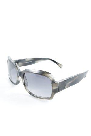 Loewe eckige Sonnenbrille schwarz-grüngrau Farbverlauf Beach-Look