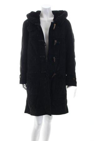 Loewe Fur Jacket black fluffy