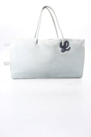 Loewe Handtasche blassblau schlichter Stil