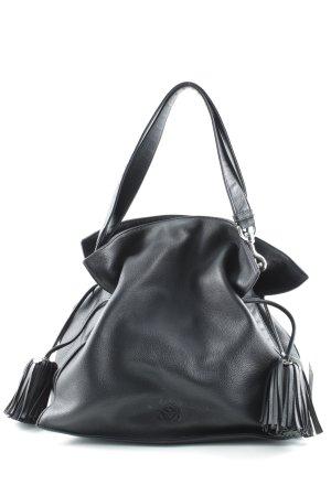 Loewe Handtasche schwarz klassischer Stil
