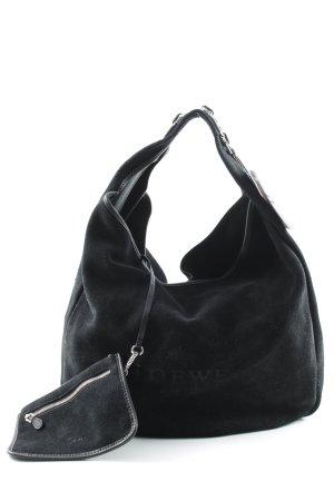 Loewe Handtasche schwarz Street-Fashion-Look