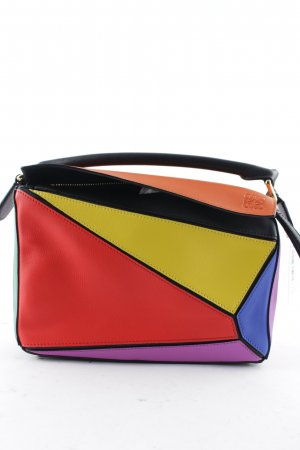 "Loewe Carry Bag ""Puzzle Bag Small Multicolor """
