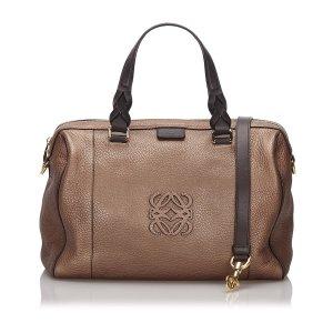 Loewe Leather Fusta 31 Satchel