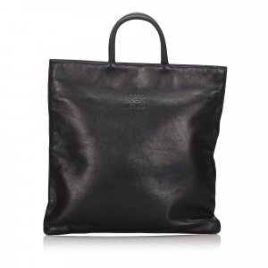 Loewe Tote black leather