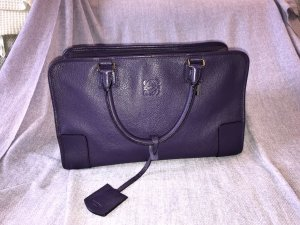 Loewe Leder Handtasche lila