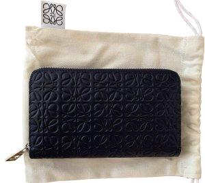Loewe Wallet blue leather