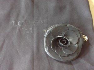 Loewe schwarze Lederpochette