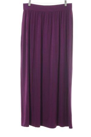 Loft Falda larga púrpura estilo extravagante