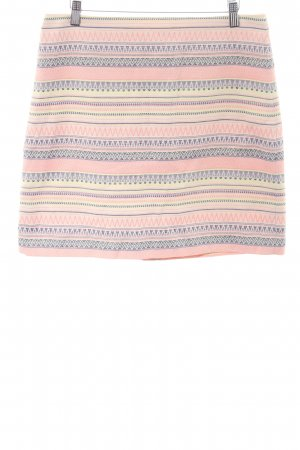 Loft Minirock grafisches Muster Casual-Look