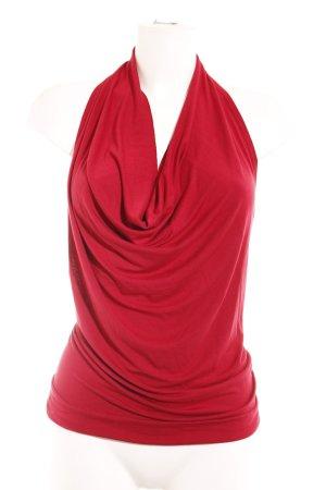 Loft Top senza maniche rosso scuro stile casual