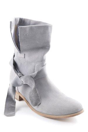 Loft37 Stivale a gamba corta grigio stile casual