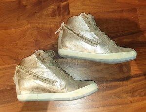 Logan Heel Sneakers gold-colored