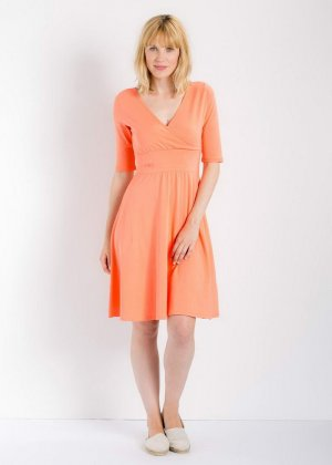 Blutsgeschwister Dress neon orange