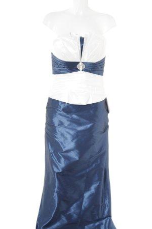 Lohrengel Kostüm wollweiß-stahlblau Elegant
