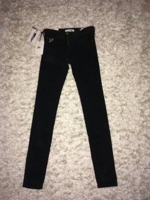 Lois Jeans Pantalone di velluto a coste nero