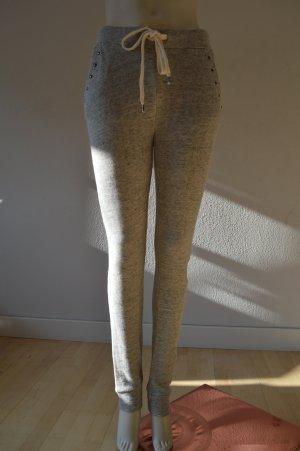 Loiza by Patrizia Pepe Pantalon de jogging gris coton