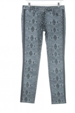 Loiza by Patrizia Pepe Skinny Jeans taupe-schwarz Animalmuster Animal-Look